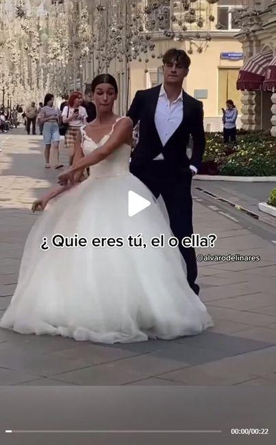 ¿Harían un Tik Tok en su matrimonio? 1