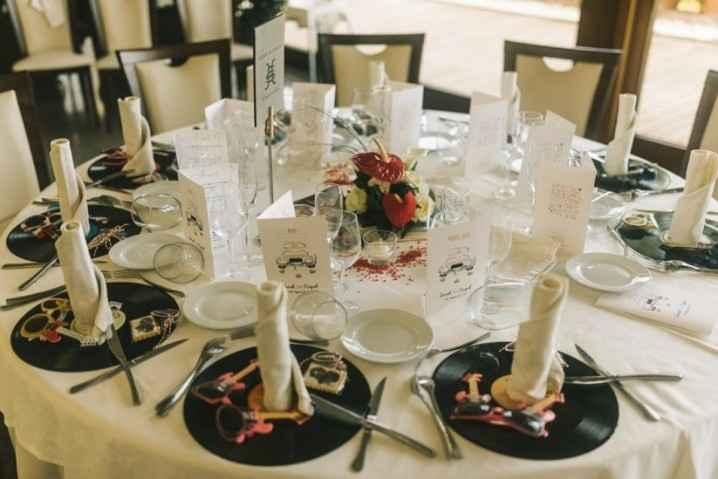 Decoración de mesas