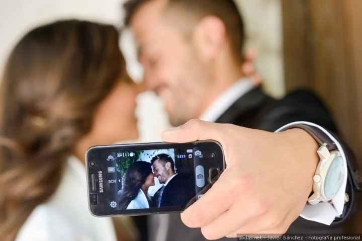 Selfie pareja