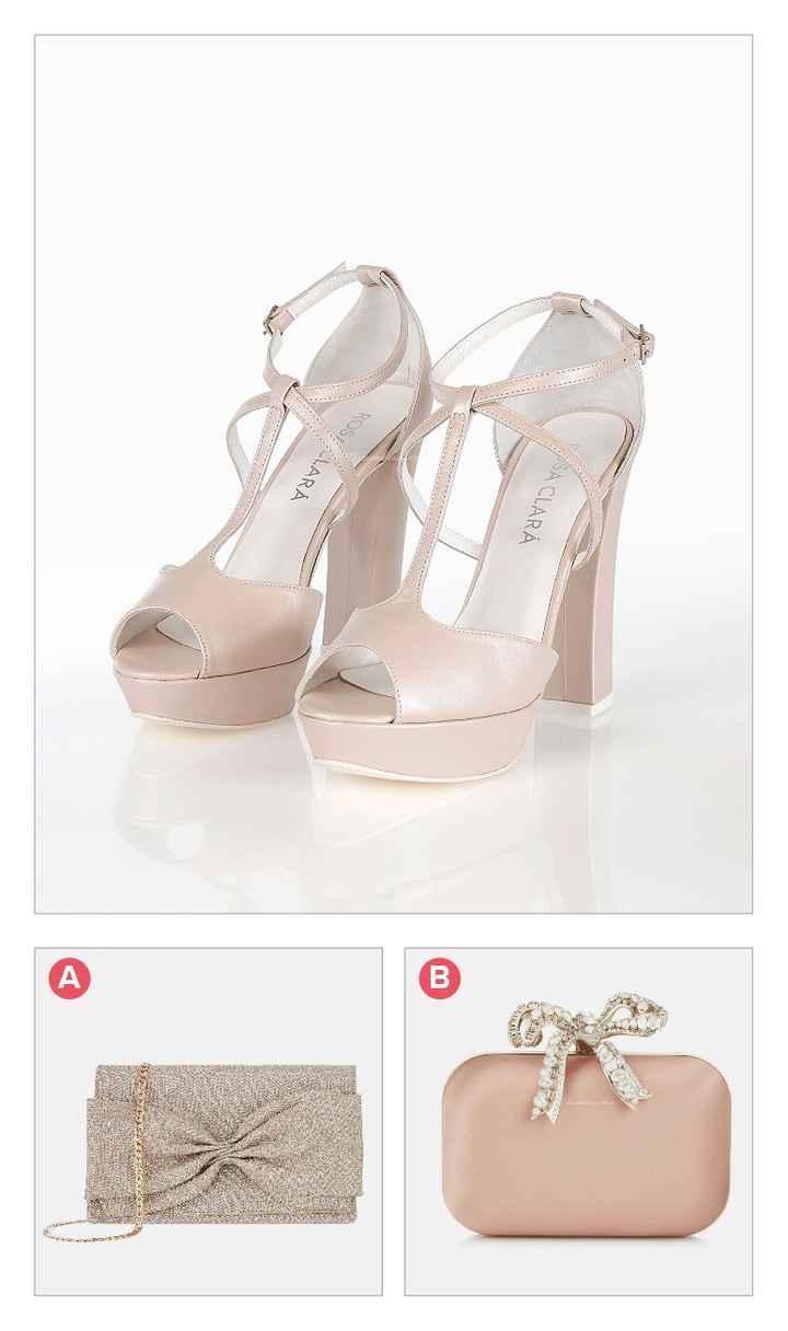 Combina zapatos con cartera - 1