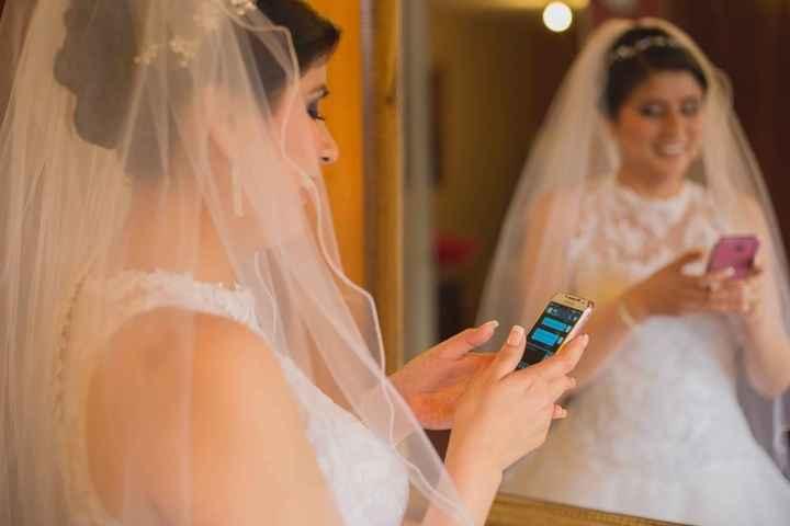 ¿Dónde tendrá tu Cel el día de tu boda?📲 - 1