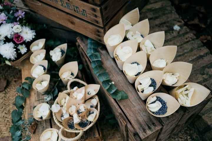 Decoración para una boda íntima - 7