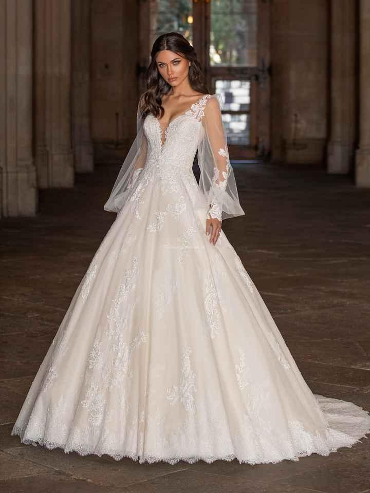 Vestidos de novia: ¡Todo menos blanco! - 2