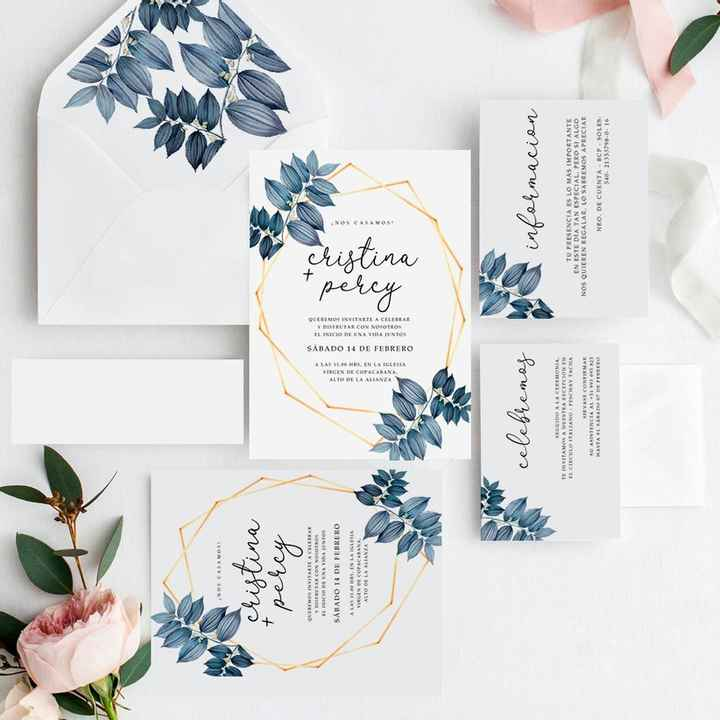 Tendencias 2021: Invitaciones de matrimonio - 3