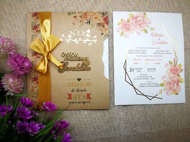 Tendencias 2021: Invitaciones de matrimonio - 4