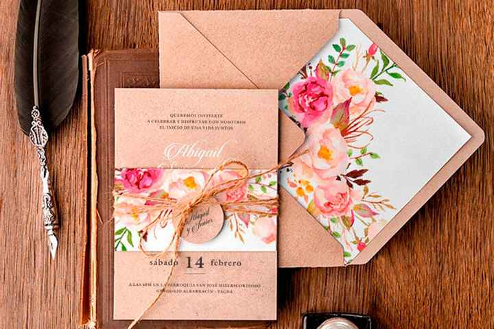 Tendencias 2021: Invitaciones de matrimonio - 8