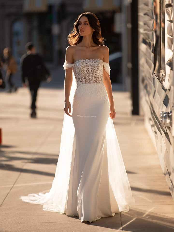 Vestidos corte sirena 2021 - 6