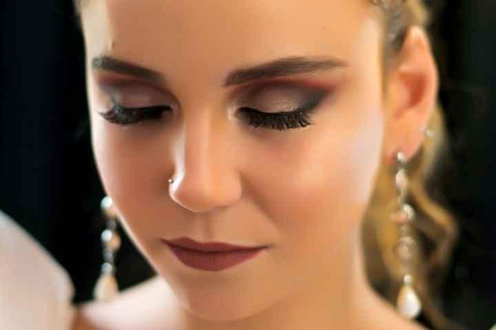 Este maquillaje: ¿Te encanta o pasas? ❤️😒 - 1