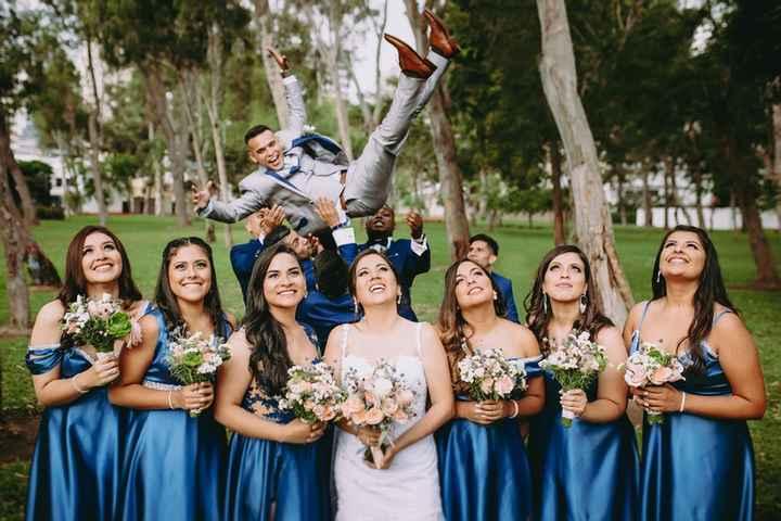 ¡Qué lancen a los novios! 🤭¿Lo harán en tu boda? - 1