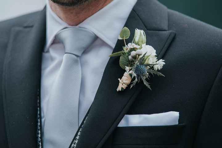 6 Propuestas encantadoras para el Botonier del novio - 1