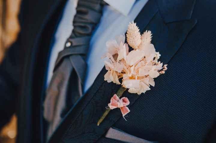 6 Propuestas encantadoras para el Botonier del novio - 5