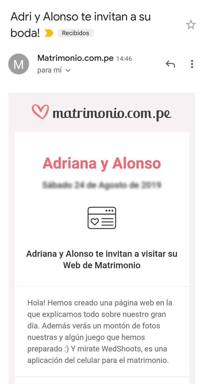 Web de Matrimonio: ¿Tendrás invitaciones virtuales? - 1