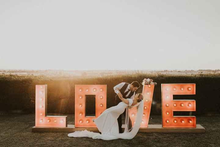 ¡Decora tu Matrimonio con Letras XXL! - 3