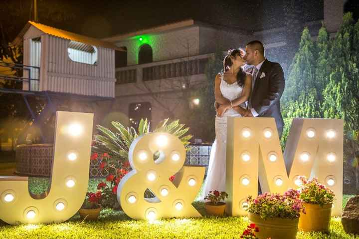¡Decora tu Matrimonio con Letras XXL! - 4