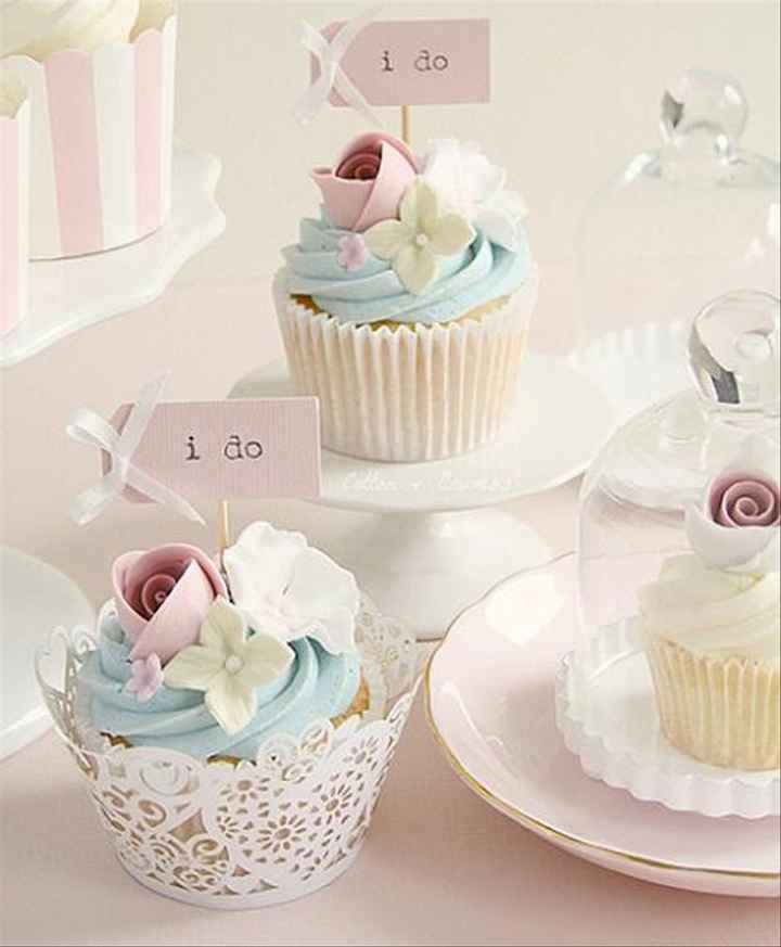 ¿Reemplazarías la torta de boda por unos cupcakes? - 1