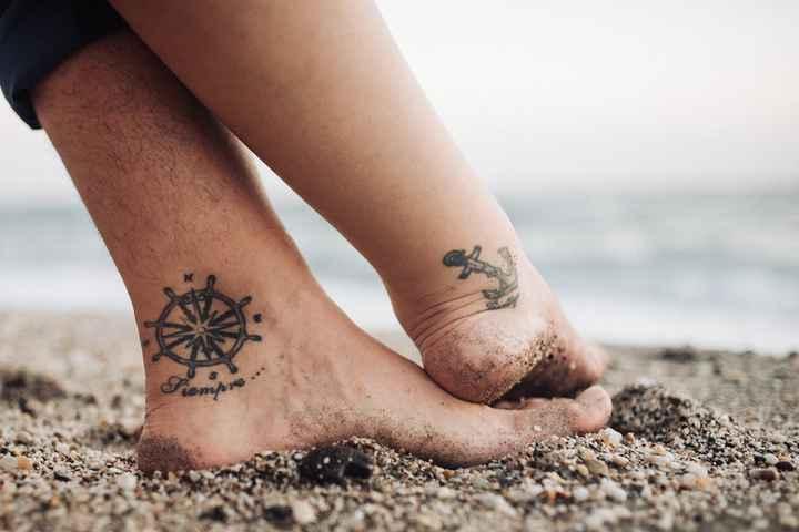 ¿Te harías un tatuaje con tu love? ❤️ - 1
