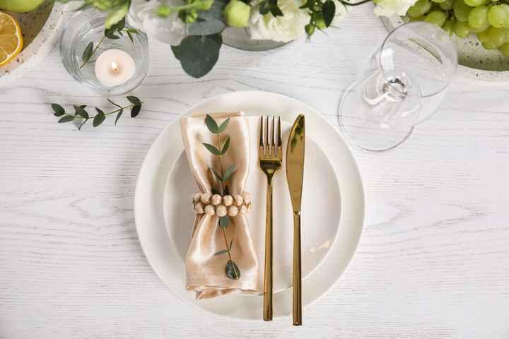Ideas para presentar el Menaje de tu boda - 1