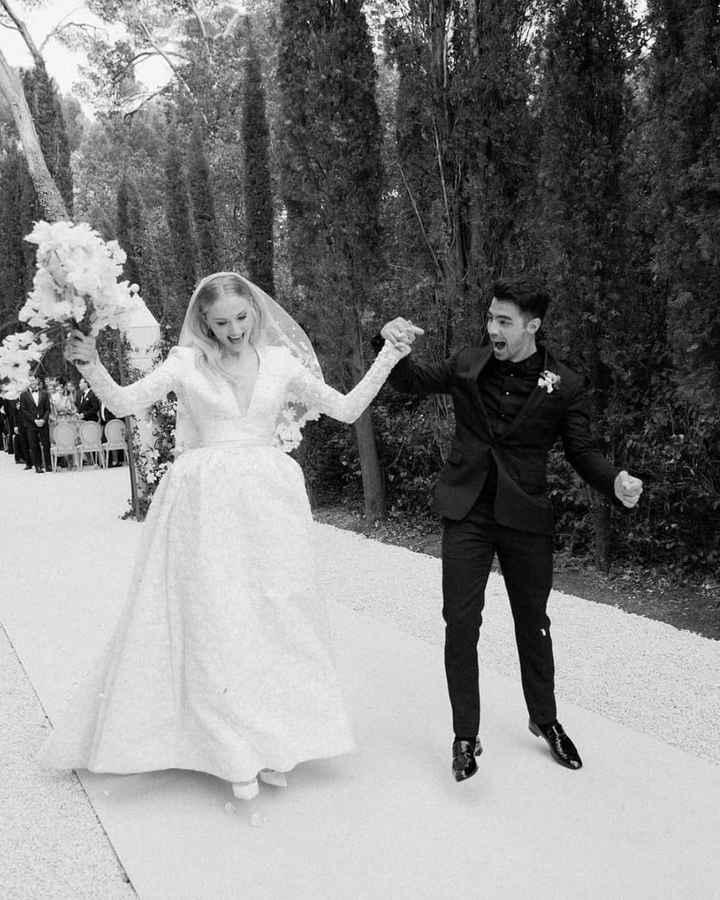 Las fotos de boda que no viste de Sophie Turner y Joe Jonas - 5
