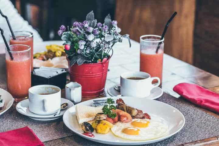 5 CONSEJOS: ¿Qué debes desayunar el día de tu matrimonio? - 1