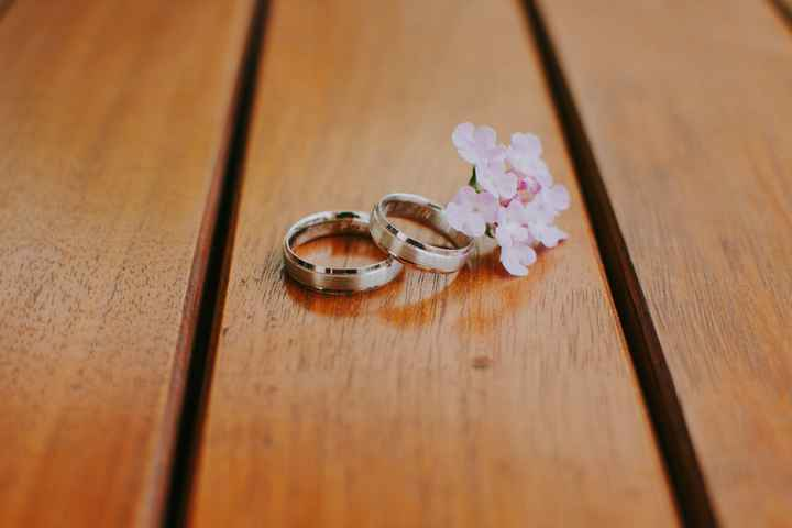 El precio justo de los anillos de matrimonio son___ - 1
