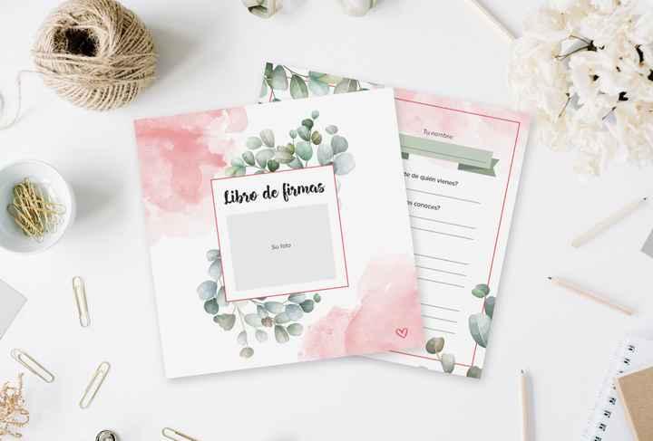 Hablemos de tus invitados y consigue un LIBRO DE FIRMAS de regalo 🎁 - 1