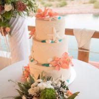 Tortas de matrimonio para una boda en la Playa - 2