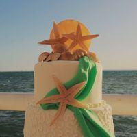 Tortas de matrimonio para una boda en la Playa - 3