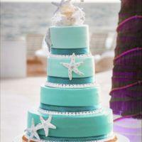 Tortas de matrimonio para una boda en la Playa - 4