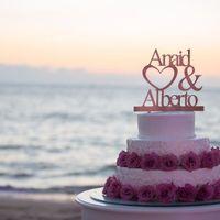 Tortas de matrimonio para una boda en la Playa - 8