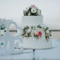 Tortas de matrimonio para una boda en la Playa - 9