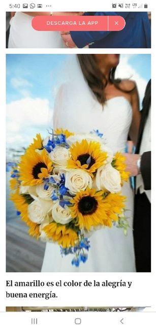 ¿Quién me muestra una foto de inspiración de su bouquet? 9