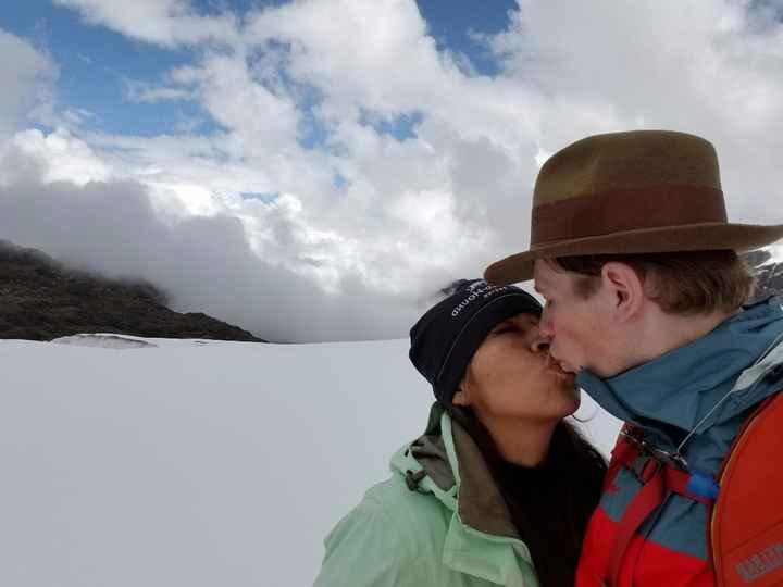 Los nevados nos hacen felices!