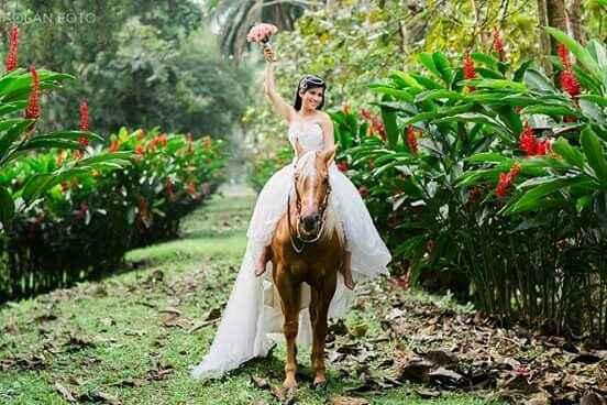 Post boda... con caballitos - 2