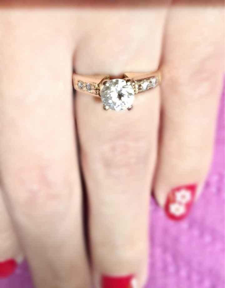 ¿Cómo es tu anillo de compromiso? - 2