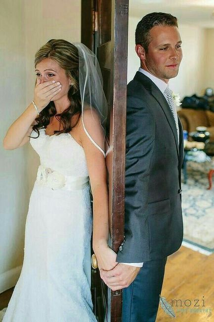 ¿Ver a la novia antes del Matrimonio? 1
