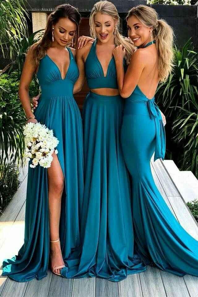 El color del vestido de las damas?? Pastel o intenso???? - 3