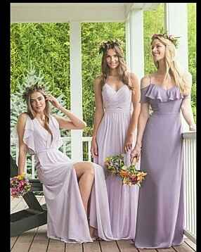 El color del vestido de las damas?? Pastel o intenso???? - 5