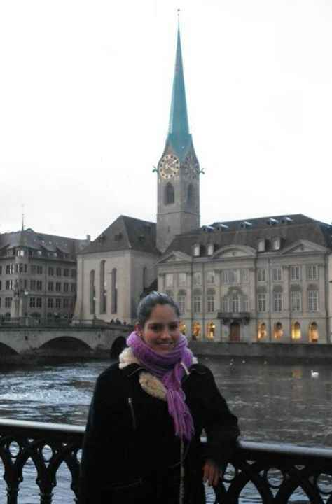 en el Centro de Zürich