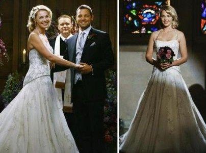 Vestidos de novia vistos en películas y series