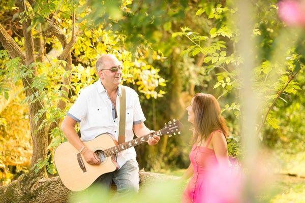 1. Sesión Fotográfica con una Guitarra
