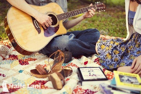 2. Sesión Fotográfica con una Guitarra