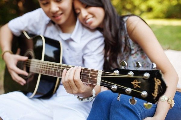 7. Sesión Fotográfica con una Guitarra