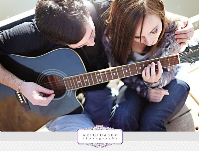 15. Sesión Fotográfica con una Guitarra