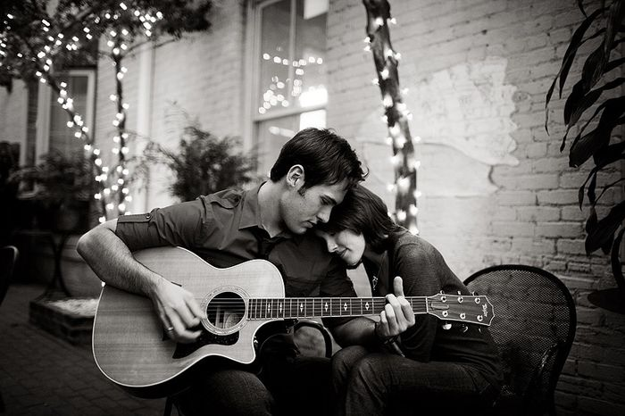 17. Sesión Fotográfica con una Guitarra