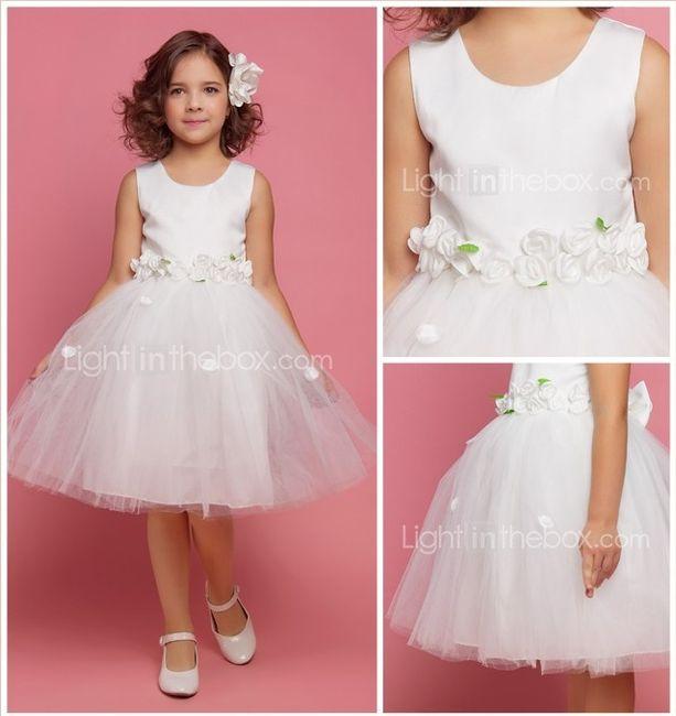 Vestidos para niñas de las flores