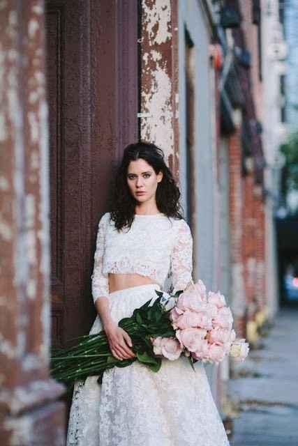 9. ¿Eres una novia crop top?