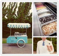 Estación de helados- En carrito