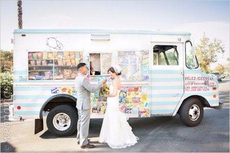 Estación de helados- En mini bus