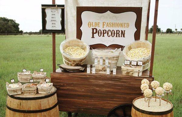 Estación de popcorn