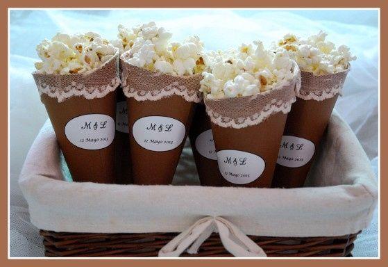 Estación de popcorn- personalizado
